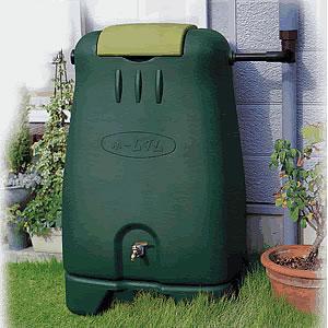 雨水利用タンク(250L)環境にやさしく水道代を節約・防災対策に