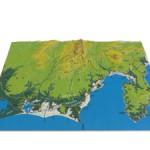 静岡県立体地図3Dプリント製作