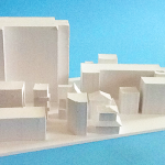 建物、模型・飾り・ジオラマに立体の白地材料の製作販売