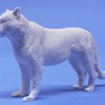 1ホワイトタイガー模型・飾り・ジオラマに立体の白地材料の製作販売