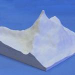 マッターホルン、模型・飾り・ジオラマに立体の白地材料の製作販売