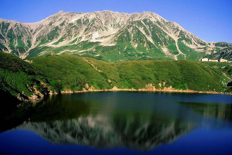 日本百名山・日本三大名山、立山