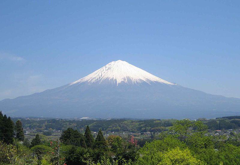 日本三大名山・日本百名山、富士山