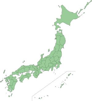 特大サイズ日本地図
