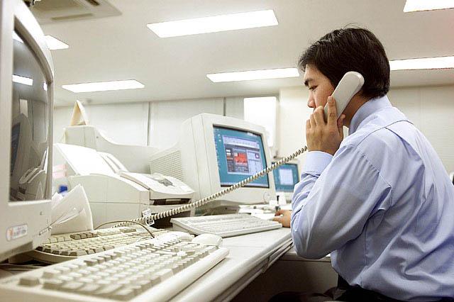 学会での専用電話回線・専用FAX回線の開設、専用サイトの開設