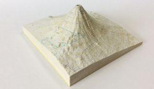 富士山地図マッピング