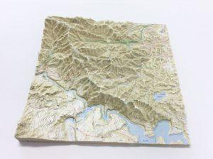 高尾山地図マッピング