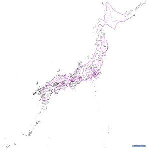 特大サイズの日本地図をオーダーメイドで製作します。